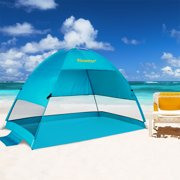 242badb5e32c Beach Tent Pop-Up Beach Umbrella Sun Shelter Pop Up UV50+ Canpoy by Alvantor