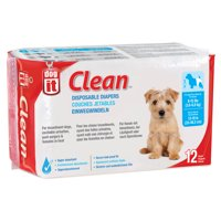 Dogit Disposable Diapers 8-15lb 12pk