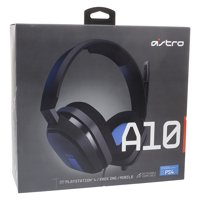 Astro A10 Gaming Headset for Playstation 4 and Xbox One, Black