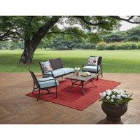 Better Homes and Gardens Piper Ridge 4 Piece Outdoor Conversation Set