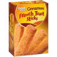 Great Value Cinnamon French Toast Sticks, 16 oz