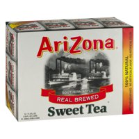 (2 Pack) Arizona Southern Style Real Blend Sweet Tea, 11.5 Fl Oz, 12 Count