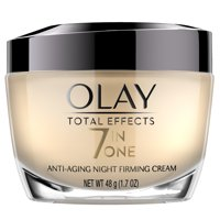 Olay Total Effects Anti-Aging Night Firming Cream, Face Moisturizer 1.7 fl oz