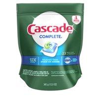 Cascade Complete ActionPacs Dishwasher Detergent, Fresh, 23 count