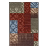 Mainstays Payton 6'x9' Red Area Rug