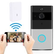UFHTech W ifi Video Doorbell Intelligent W ireless Alarm System Security Camera and PIR Motion Detection