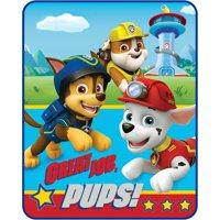 "Paw Patrol ""Great Job Pups"" 40"" x 50"" Kids Silky Soft Throw, 1 Each"