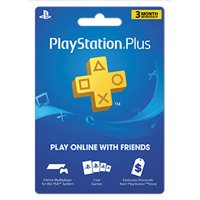 Sony PlayStation Plus 3 Month Subscription (email delivery)