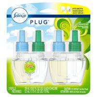 Febreze Plug Air Freshener Scented Oil Refill, Gain Original Scent, 2 Count