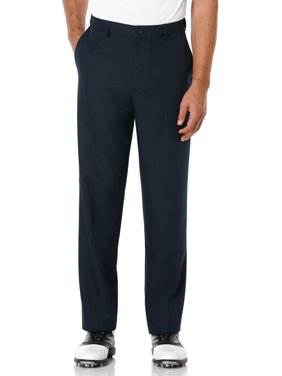 Big Men's Performance Flat Front Expandable Waistband Pant