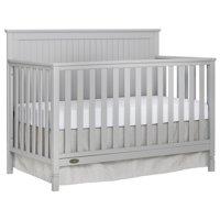 Dream On Me Alexa 5 in 1 Convertible crib, Pebble Gray