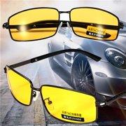 55b946ceea Polarized UV400 Sunglasses Night Vision Driving Sport Eyewear Shade Glasses  Yellow