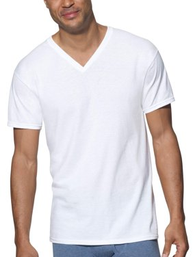 Men's Ultimate ComfortSoft V-Neck Undershirt, 3-Pack