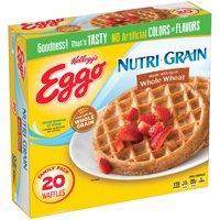 Kellogg's Eggo Nutri-Grain Whole Wheat Waffles, 24.6 OZ