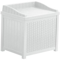 Suncast 22 Gallon Wicker Storage Seat, SSW1200W