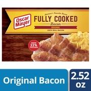 Oscar Mayer Original Fully Cooked Bacon 2.52 oz Box