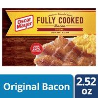 Oscar Mayer Original Fully Cooked Bacon, 2.52 Oz.