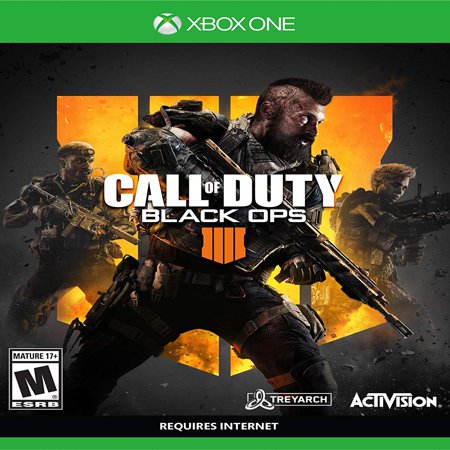 - Call of Duty: Black Ops 4, Activision, Xbox One, 047875882294