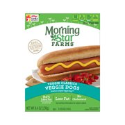 Morningstar Farms, Veggie Classics, Veggie Dogs, 100% Vegetarian, 8.4 oz (6 Count), 8.4 OZ