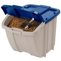Suncast 72-Quart Resin Food Storage Hopper Bin, BH181812P