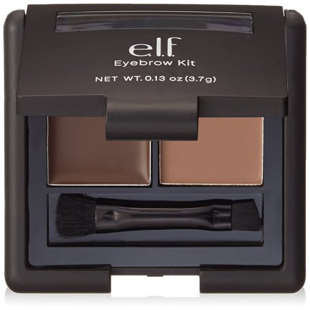 e.l.f. Gel & Powder Eyebrow Duo Kit with Brush, Medium
