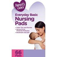 Parent's Choice Basic Nursing Pads, 66 Count