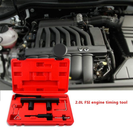 Engine Timing Tool Kit - 7pcs Car Engine Camshaft Alignment Timing Tool Kit for AUDI VW 2.0L FSi ,Timing Tool Kit,Engine Locking Timing Tool