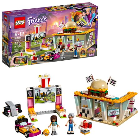 LEGO Friends Drifting Diner 41349 Building Set (345 Pieces) - Parts Pieces Legos