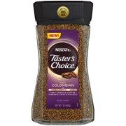 NESCAFE TASTER'S CHOICE 100% Colombian Medium Roast Instant Coffee 7 oz. Jar