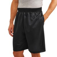 Deals on Athletic Works Mens and Big Mens Dazzle Shorts