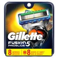 Gillette Fusion5 ProGlide Men's Razor Blades - 8 Refills