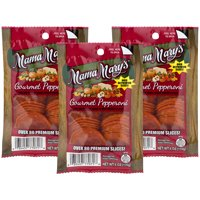(3 Pack) Mama Mary's Gourmet Pepperoni, 6 oz