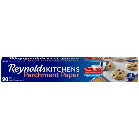 - Reynolds Kitchens Parchment Paper with SmartGrid, 72x15, 90 Square Feet