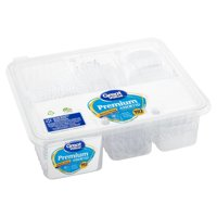 Great Value Premium Assorted Clear Cutlery, 192 count