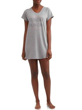 Danskin Women's Peached Jersey Sleepshirt