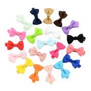 0144ec7f0c15 20Pcs Hair Barrettes, Coxeer Hair Clips Hair Bows Hair Pins Hair Accessories  for Baby Girls