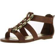8f2d90d95e556 Bamboo Womens Fenchel-13 Fashion Strappy Flat Sandals