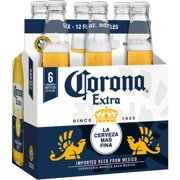 Corona Extra Beer, 6 pack, 12 fl oz
