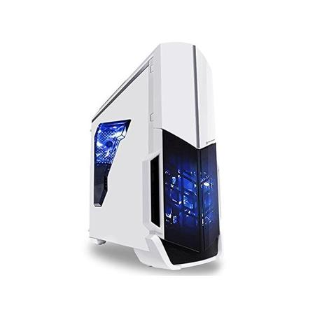 SkyTech ArchAngel GTX 1050 Ti Gaming Computer Desktop PC FX-6300 3.50 GHz 6-Core, GTX 1050 Ti 4GB, 8GB DDR3, 1TB HDD, 24X DVD, Wi-Fi USB, Windows 10 Pro 64-bit, White (GTX 1050 Ti Version) ()