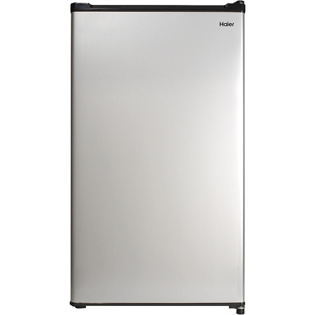 Haier 2.7 Cu Ft Single Door Compact Refrigerator HC27SW20RV, Steel (Haier White Refrigerator)