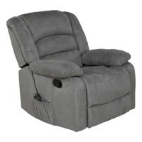 Relaxzen Rocker Recliner with Massage, Heat and Dual USB