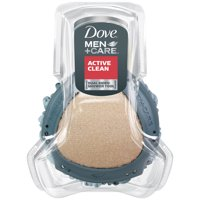 Dove Men+Care Shower Tool, Dual Sided Body Scrubber and Loofah, 1 ct