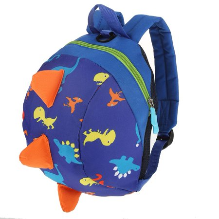 Knifun Kids Insulated Toddler Backpack with Safety Harness Leash - Playful Preschool Kids Lunch Bag, Dinosaur Nursery Shoulder Backpack with Anti-Lost Strap for 1-3 Years Old Boys and Girls](Personalized Backpack For Toddler Girl)