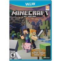 Minecraft: Wii U Edition, Nintendo, WIIU, [Digital Download], 0004549666115