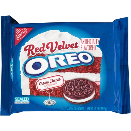 (2 Pack) Nabisco Oreo Sandwich Cookies Red Velvet, 12.2 OZ](Halloween Cupcakes Oreo)