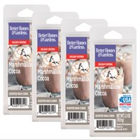 Better Homes & Gardens 2.5 oz Creamy Marshmallow Cocoa Scented Wax Melts, 4-Pack