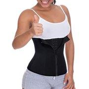 108b97ba2 LELINTA Women Waist Trainer Corset Cincher Zipper Body Shaper for Weight  Loss Girdle Top Tummy Underwear