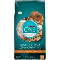 Purina ONE True Instinct Natural Grain-Free With Real Chicken Dry Cat Food, 6.3 lb