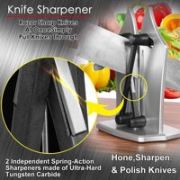 Bavarian Kitchen Edge Knife Sharpener Sharpens Hones Standard Blade