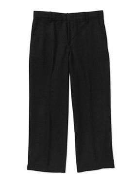 School Uniform Boys' Husky Flat Front Dress Pant